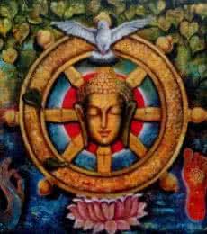 Peaceful Buddha 4   Painting by artist Arjun Das   acrylic   Canvas