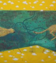 Hopefully Two | Painting by artist Govind Biswas | acrylic | Canvas