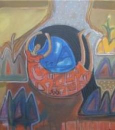 Arpita Chandra | Let Free Mixed media by artist Arpita Chandra on Canvas | ArtZolo.com