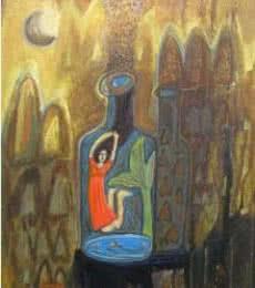 Arpita Chandra | Let Me Free Mixed media by artist Arpita Chandra on Canvas | ArtZolo.com