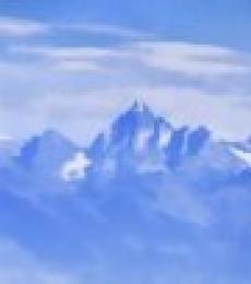 Ashwin Rajaraman | Blue Mountain Peaks Digital art Prints by artist Ashwin Rajaraman | Digital Prints On Canvas, Paper | ArtZolo.com