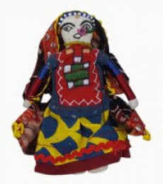 Nani Dhingli- Child (S) | Craft by artist De Kulture Works | Cloth
