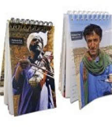 De Kulture Works | MyNote Pad	Sufi Dhadhi Artist (Set of 2) Craft Craft by artist De Kulture Works | Indian Handicraft | ArtZolo.com
