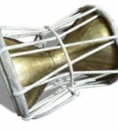 Indigenous Instruments Damru (M) | Mixed_media by artist De Kulture Works | Brass
