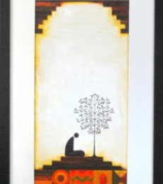 Untitled | Painting by artist Ishani Pimpalkhare | acrylic | Paper