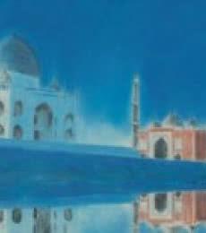 Place Dry-pastel Art Painting title Taj by artist SIMON MASON