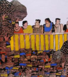 Untitled | Painting by artist Rama Krishna V | acrylic | Canvas
