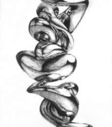 Untitled | Drawing by artist Sanchit Raj |  | pen | Paper