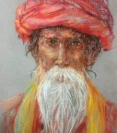 Soft Pastle Potrait | Painting by artist Rajesh Gawhale | dry-pastel | Paper