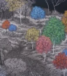 Landscape Acrylic Art Painting title 'Landscape 1' by artist Sanjay Devsale