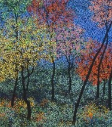 Landscape Acrylic Art Painting title Landscape 7 by artist Sanjay Devsale
