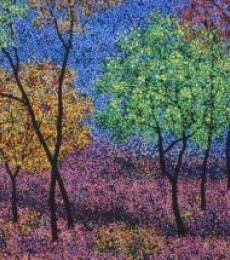 Landscape Acrylic Art Painting title 'Landscape 8' by artist Sanjay Devsale