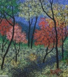 Landscape 9 | Painting by artist Sanjay Devsale | acrylic | Canvas
