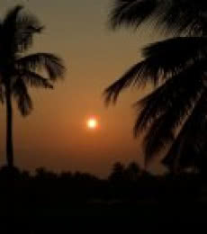Sunset | Photography by artist Naveen Palanivelu | Art print on Canvas