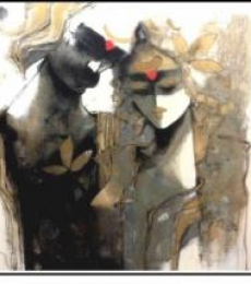Untitled | Painting by artist Sachin Jaltare | acrylic | Canvas