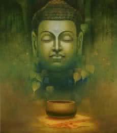 Buddha Dhyana   Painting by artist Sanjay Lokhande   acrylic   Canvas