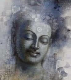 Buddha Mindfulness | Painting by artist Sanjay Lokhande | acrylic | Canvas