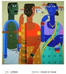 Untitle   Painting by artist Narsimlu Kandi   acrylic   Canvas