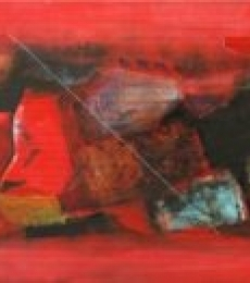 Untitled 4 | Painting by artist Somanth  Adamane | mixed-media | Paper