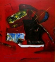 Untitled 2 | Painting by artist Somanth  Adamane | acrylic | Canvas