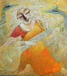Paraa   Painting by artist Subrata Ghosh   acrylic   Canvas