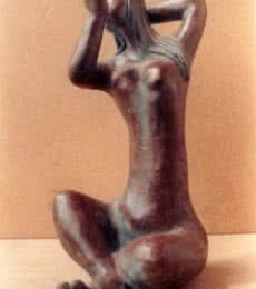 Bronze Sculpture titled 'Grace' by artist Sunita Lamba