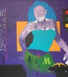 Figurative Acrylic Art Painting title Mumbai 1 by artist Ranjit Singh