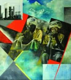 Change | Painting by artist Ajit  Deswandikar | oil | Canvas