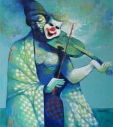 Navnath Chobhe | Acrylic Painting title Life 2 on Canvas | Artist Navnath Chobhe Gallery | ArtZolo.com