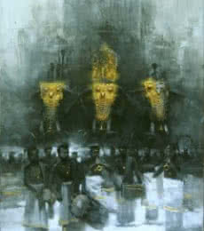 Untitled | Painting by artist Pankaj Bawdekar | acrylic | Canvas