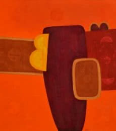 Untitled 12 | Painting by artist Bhushan Vaidhya | acrylic | Canvas