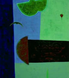Untitled 3   Painting by artist Bhushan Vaidhya   acrylic   Canvas