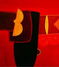Bhushan Vaidhya Paintings | Abstract Painting - Untitled 1 by artist Bhushan Vaidhya | ArtZolo.com