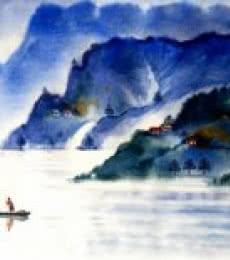 Landscape 1   Painting by artist Raju Terdals   acrylic   Canvas