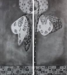 Butterfly 1 | Drawing by artist Prathamesh Khandvilkar |  | charcoal | Paper