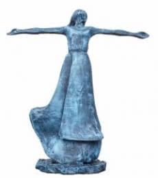 Dance Of Rain | Sculpture by artist Nimeshh Pilla | Fiber