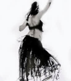 Aditya Shirke | Watercolor Painting title I Move N It Is Dance 2 on Paper | Artist Aditya Shirke Gallery | ArtZolo.com