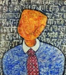 Pretendente | Painting by artist yolanda desousa. | acrylic | canvas