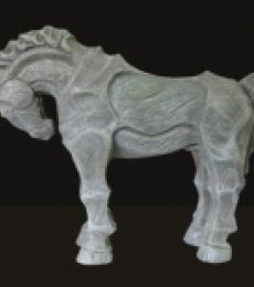 Devidas Dharmadhikari | Horse 4 Sculpture by artist Devidas Dharmadhikari on Fiberglass | ArtZolo.com