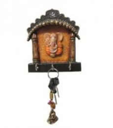 Ecraft India | Ganesha Key Hanger Craft Craft by artist Ecraft India | Indian Handicraft | ArtZolo.com