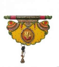Pankhi Key Hanger | Craft by artist Ecraft India | Paper