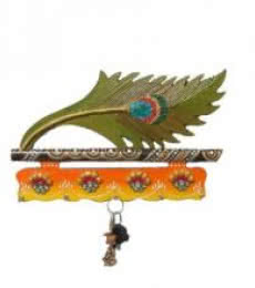 Ecraft India | Mayur Key Hanger 1 Craft Craft by artist Ecraft India | Indian Handicraft | ArtZolo.com