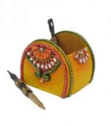 Pen Stand | Craft by artist Ecraft India | Paper