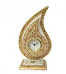 Golden Trophy Watch | Craft by artist Ecraft India | Marble