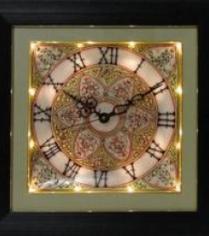Marble Wall Clock  2 | Craft by artist Ecraft India | Marble