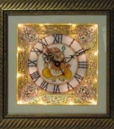 Ecraft India | Marble Wall Clock 3 Craft Craft by artist Ecraft India | Indian Handicraft | ArtZolo.com