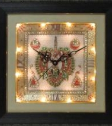 Marble Wall Clock  4   Craft by artist Ecraft India   Marble