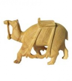 Ecraft India | Carved Camel Craft Craft by artist Ecraft India | Indian Handicraft | ArtZolo.com