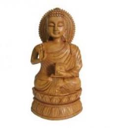 Ecraft India | Lord Buddha Sitting Statue Craft Craft by artist Ecraft India | Indian Handicraft | ArtZolo.com