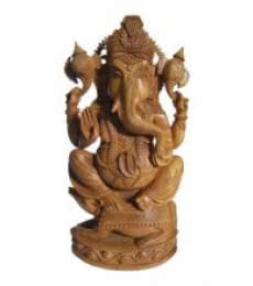 Ecraft India | Lord Ganesha With Rat Craft Craft by artist Ecraft India | Indian Handicraft | ArtZolo.com